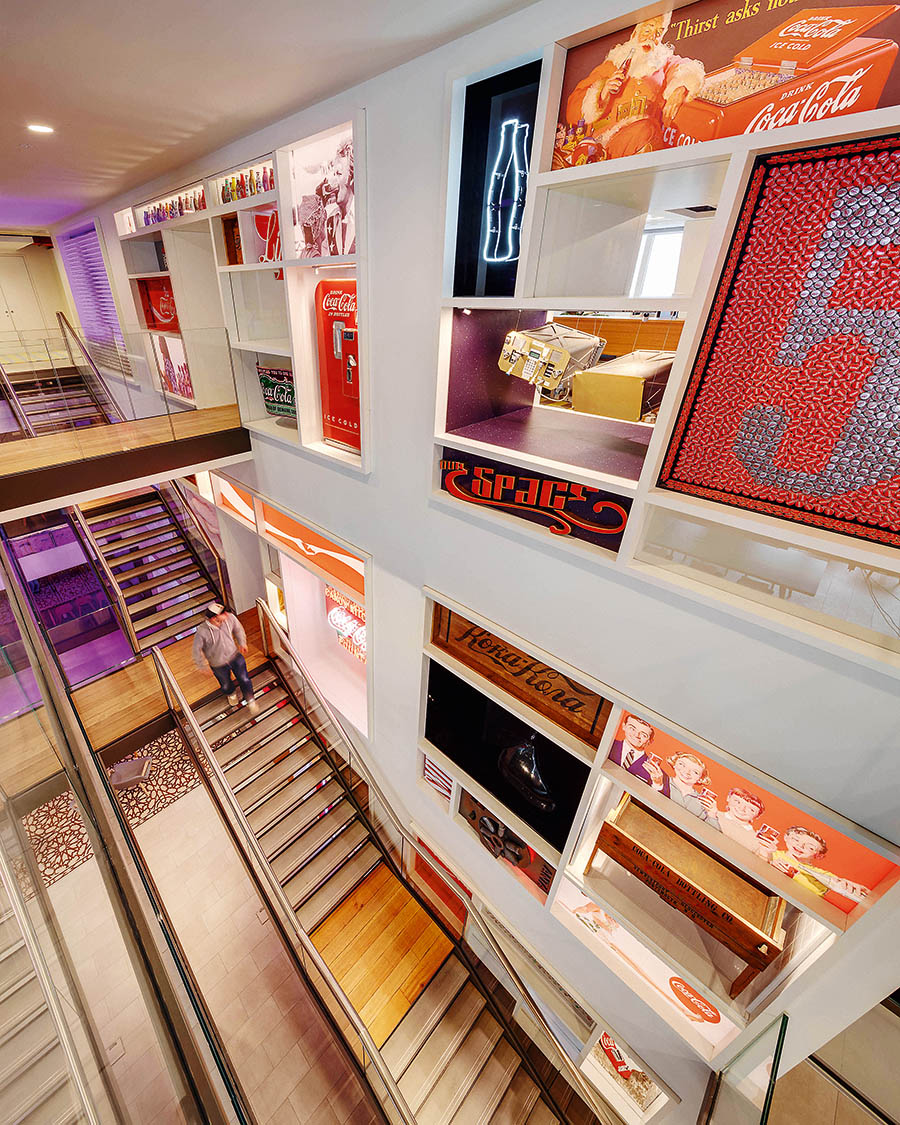 Acrylicize_Nikhilesh Haval - Coca-Cola Heritage Wall Designed by acrylicize